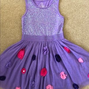 The Children's Place Easter Tulle dress size 7 8